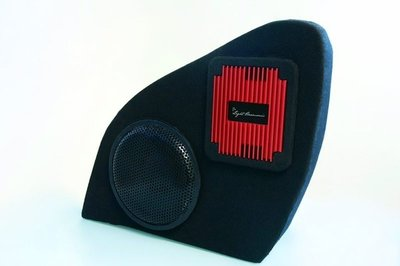 "Lightharmonic S4D.Doorspeakers, Sub 8"" subwoofer and 600W Amp set"